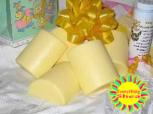 Baby Grace Philosophy type glycerin shea butter soap at Everything Shea Aromatic Creations