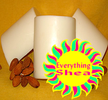 awesome almond glycerin shea butter soap everything shea aromatic creations