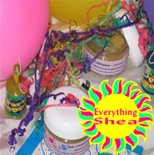 babycelebrations shea butter balm at Everything Shea Aromatic Creations