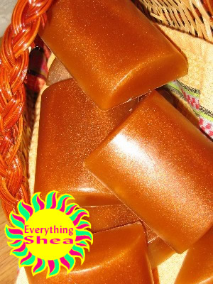 pumpkin harvest glycerin shea butter soap at Everything Shea Aromatic Creations